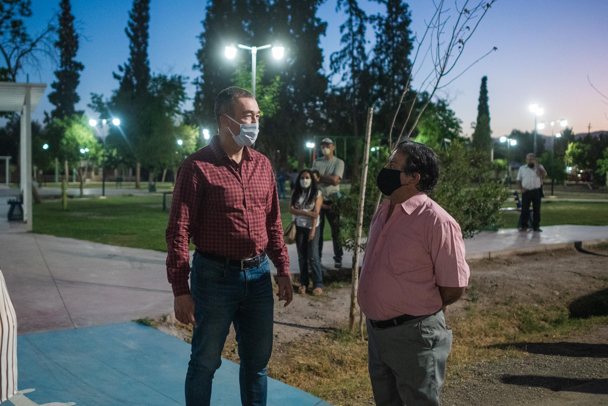 OBRAS DE ILUMINACIÓN EN EL BARRIO RIVADAVIA SUR